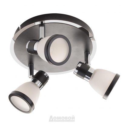 Купить Спот ST26-3 3*G9*35Вт 220В черный металл в Санкт-Петербурге по недорогой цене и с быстрой доставкой.