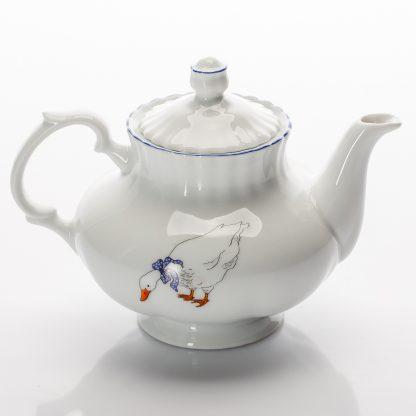 Купить Чайник заварочный Гуси 500мл фарфор в Санкт-Петербурге по недорогой цене и с быстрой доставкой.