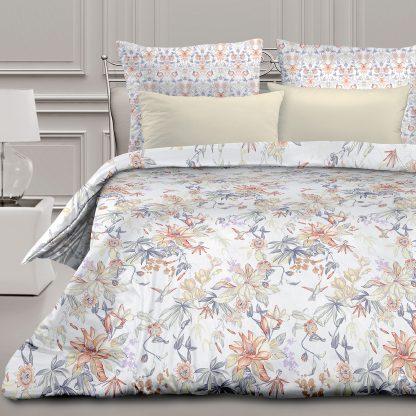 Купить Комплект постельного белья Романтика Орнелла Евро