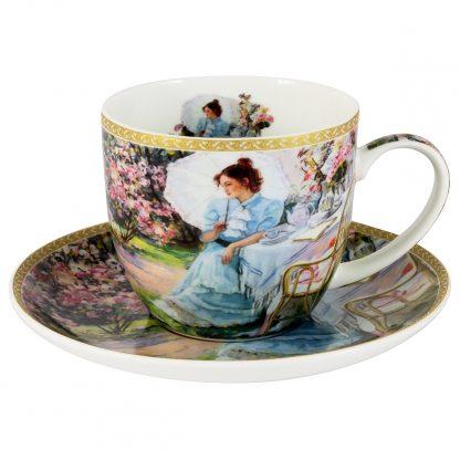 Купить Пара чайная В саду