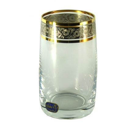 Купить Набор стаканов д/воды Идеал панто платина