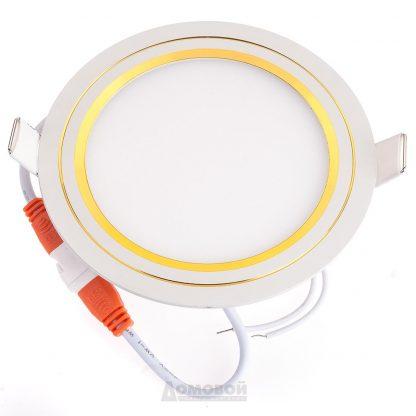 Купить Светильник встраиваемый ЭРА KL LED 11-5 GD светодиодный круглый 5W белый/золото в Санкт-Петербурге по недорогой цене и с быстрой доставкой.