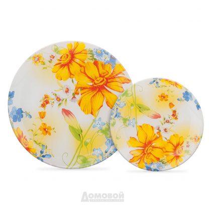 Купить Тарелка Желтые цветы