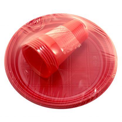 Купить Набор посуды одноразовой PAP STAR: тарелка 22 см и стакан 0