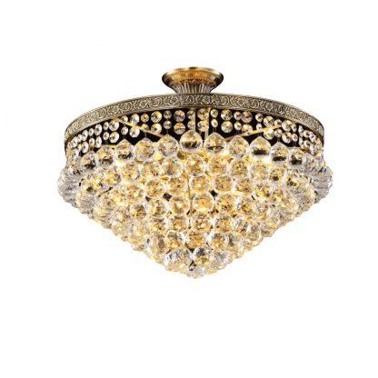 Купить Люстра ADH 95062/0006 6*Е14*40Вт хрусталь/античная бронза в Санкт-Петербурге по недорогой цене и с быстрой доставкой.