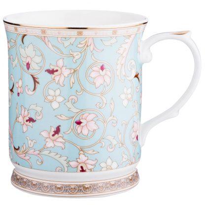 Купить Кружка Цветы 450мл фарфор в Санкт-Петербурге по недорогой цене и с быстрой доставкой.