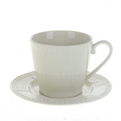 Купить Набор чайный Ажурный узор 6/12пр 250мл фарфор в Санкт-Петербурге по недорогой цене и с быстрой доставкой.