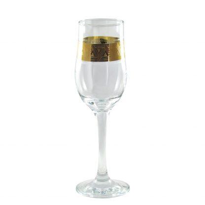 Купить Набор бокалов д/шампанского Пирамида 6шт 200мл с декором стекло в Санкт-Петербурге по недорогой цене и с быстрой доставкой.