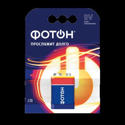 Купить Элемент питания ФОТОН 6LR61 КP1 в Санкт-Петербурге по недорогой цене и с быстрой доставкой.