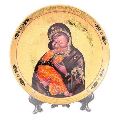 Купить Тарелка декоративная Пресвятая Богородица Владимирская