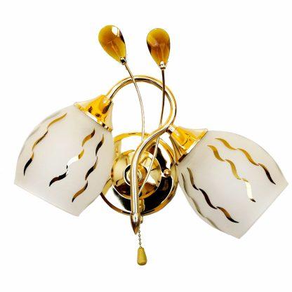 Купить Бра Символ Света CC0113/2A 2*Е27*60Вт золото в Санкт-Петербурге по недорогой цене и с быстрой доставкой.