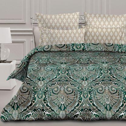 Купить Комплект постельного белья Романтика Сапфир Евро