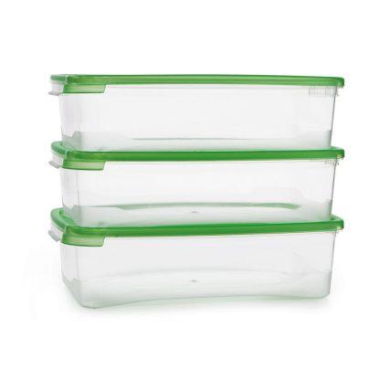 Купить Набор контейнеров д/продуктов Каскад