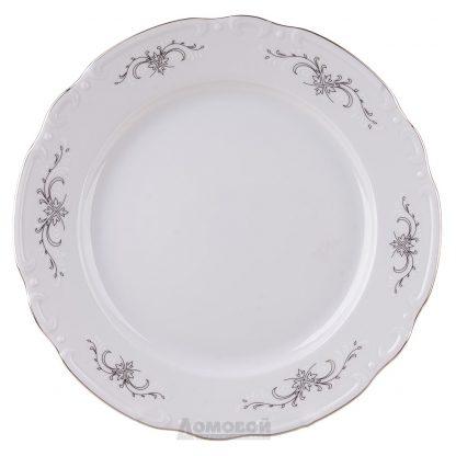 Купить Тарелка Серый Орнамент Констанция десертная 19см
