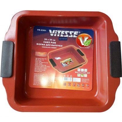 Купить Форма д/выпечки Vitesse Chocolate Cherry VS-2351 20х20х4см