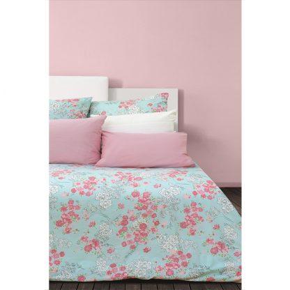 Купить Комплект постельного белья Сова и Жаворонок Японский сад Евро