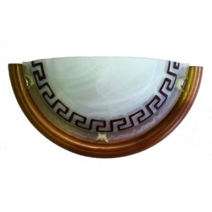Купить Светильник полукруглый BSW Дуб 6202 1*Е27*75Вт этруска/мрамор в Санкт-Петербурге по недорогой цене и с быстрой доставкой.