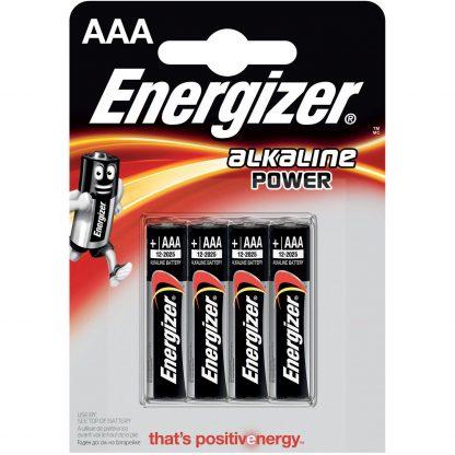Купить Элемент питания Energizer Power Alkaline LR03 BP4 в Санкт-Петербурге по недорогой цене и с быстрой доставкой.