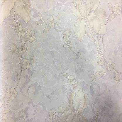 Купить Обои VernissAGe (горяч. тисн. на ф/о) Ирис 168031-20 (рисунок 1-3) бел. 1