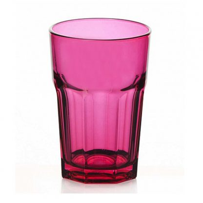 Купить Стакан д/коктейля Enjoy fuchsia 355мл стекло в Санкт-Петербурге по недорогой цене и с быстрой доставкой.