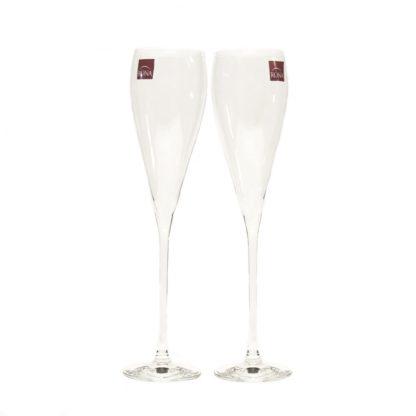 Купить Набор бокалов  д/шампанского Grace 2шт 280мл гладкое бесцветное хрустальное стекло в Санкт-Петербурге по недорогой цене и с быстрой доставкой.