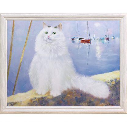 Купить Картина в раме Белые ночи 30х40см в Санкт-Петербурге по недорогой цене и с быстрой доставкой.