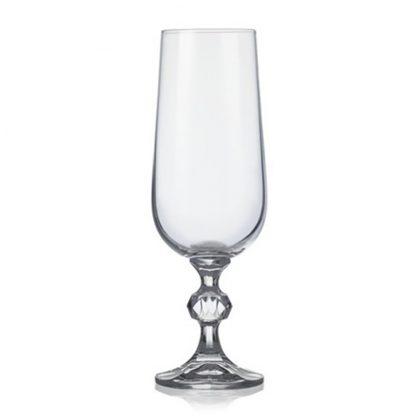 Купить Набор бокалов  д/шампанского Клавдия 6шт 180мл гладкое бесцветное стекло в Санкт-Петербурге по недорогой цене и с быстрой доставкой.