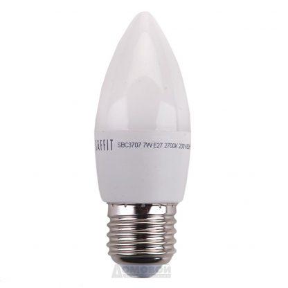 Купить Лампа светодиодная B35 7W 230V E27 2700K