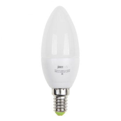 Купить Лампа светодиодная PLED- ECO-C37 5w E14 3000K 400Lm Jazzway в Санкт-Петербурге по недорогой цене и с быстрой доставкой.