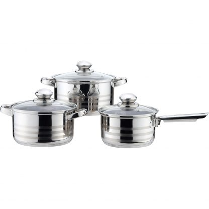 Купить Набор посуды Mallony 6пр(ковш -16см