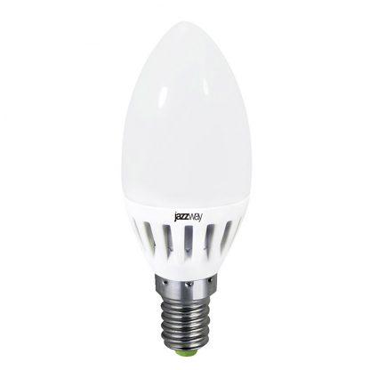Купить Лампа светодиодная PLED- ECO-C37 5w E27 4000K 400Lm Jazzway в Санкт-Петербурге по недорогой цене и с быстрой доставкой.