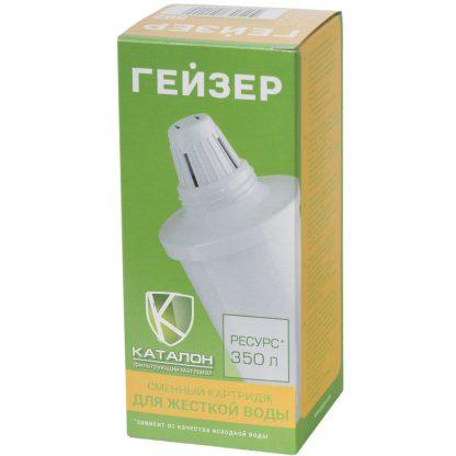 Купить Модуль сменный к кувшинам Гейзер 502 для жесткой воды в Санкт-Петербурге по недорогой цене и с быстрой доставкой.