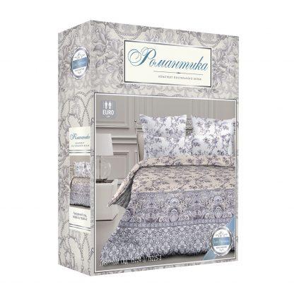 Купить Комплект постельного белья Романтика Лазурный сад Евро