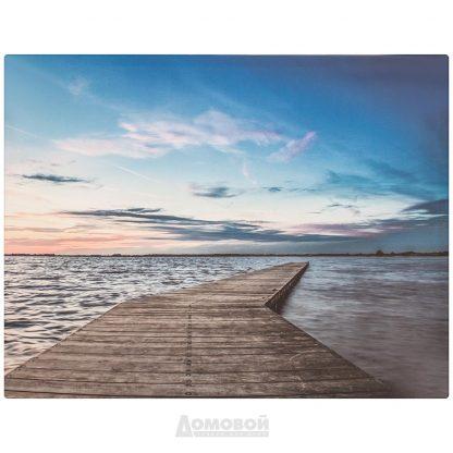 Купить Картина Озеро 50*65см в Санкт-Петербурге по недорогой цене и с быстрой доставкой.