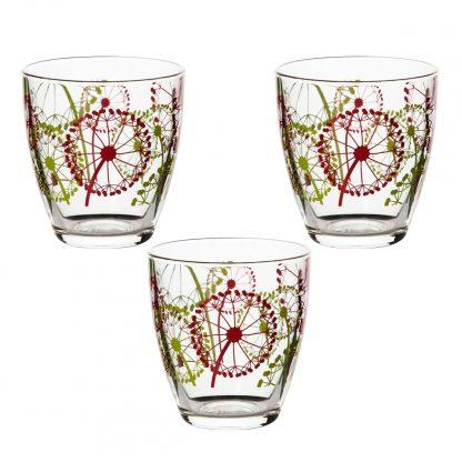 Купить Набор стаканов Fazenda 3шт 285мл стекло в Санкт-Петербурге по недорогой цене и с быстрой доставкой.