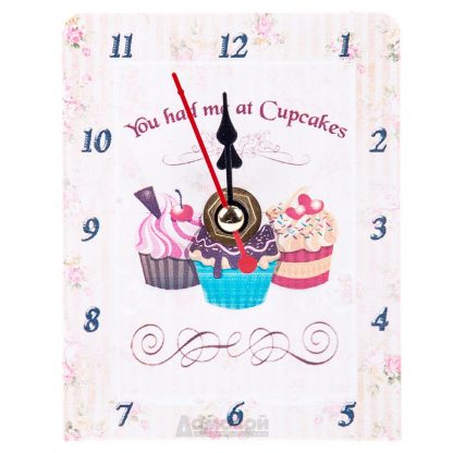 Купить Часы настольные Десерт