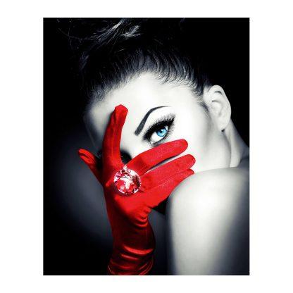 Купить Картина декобокс Красная перчатка