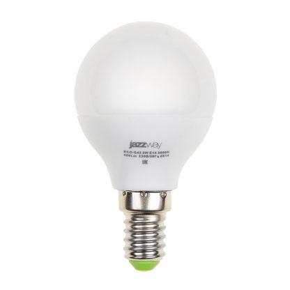 Купить Лампа светодиодная PLED- ECO-G45 5w E14 4000K 400Lm Jazzway в Санкт-Петербурге по недорогой цене и с быстрой доставкой.