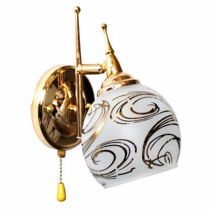 Купить Бра Символ Света F80026/1W GD 1*Е27*60Вт в Санкт-Петербурге по недорогой цене и с быстрой доставкой.