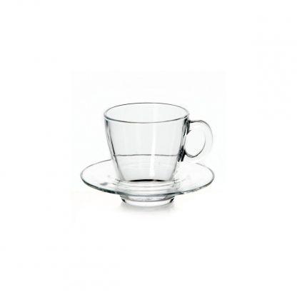 Купить Набор чайный Aqua 6/12пр 215мл прозрачное стекло в Санкт-Петербурге по недорогой цене и с быстрой доставкой.