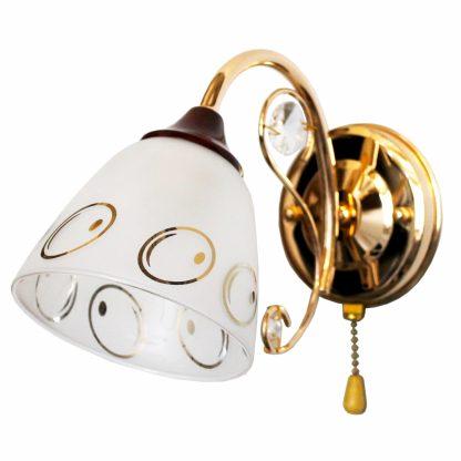 Купить Бра Символ Света CC0652/1W GD 1*Е27*60Вт золото в Санкт-Петербурге по недорогой цене и с быстрой доставкой.