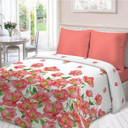 Купить Комплект постельного белья для Snoff Маки Евро