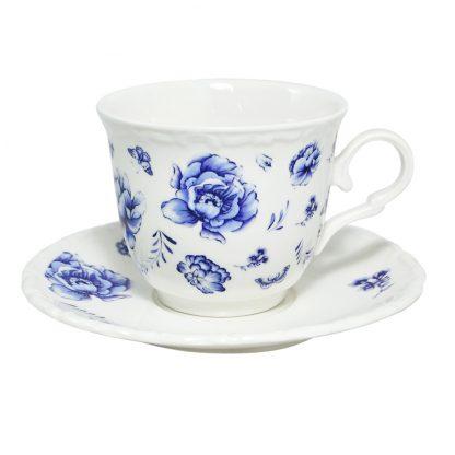 Купить Пара чайная Азурро 220мл фарфор в Санкт-Петербурге по недорогой цене и с быстрой доставкой.