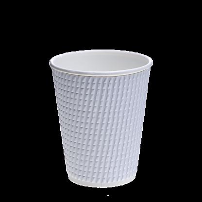 Купить Набор стаканов одноразовых бум. с тиснением 3D
