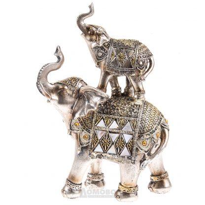 Купить Фигурка декоративная Слониха со Слоненком