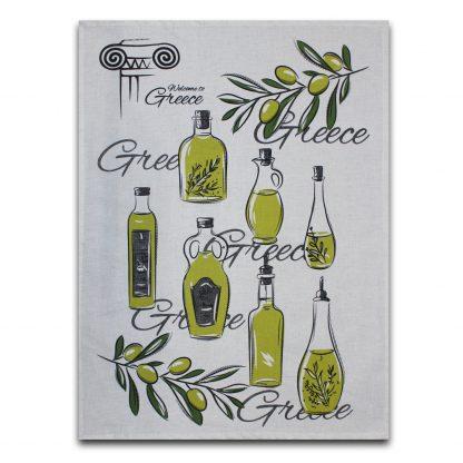 Купить Полотенце кухонное Оливковое масло