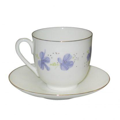 Купить Пара чайная Голубые цветы