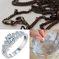 Как очистить серебро, потерявшее блеск?